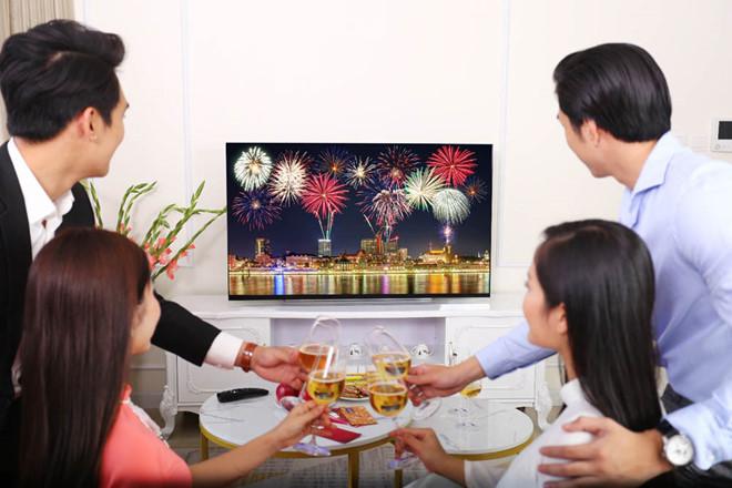 TV OLED  đắt khách mùa cuối năm