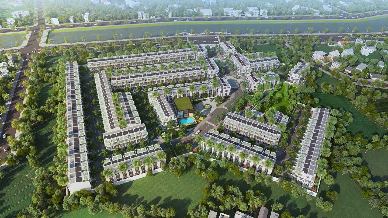 Danh sách các dự án nhà phố đáng mua nhất Đức Hòa, Long An