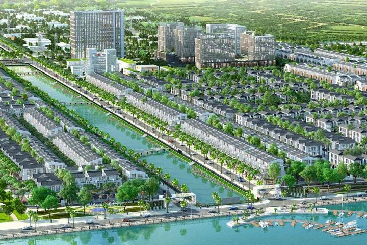 Danh sách các dự án nhà phố đang mở bán tại Đức Hòa, Long An