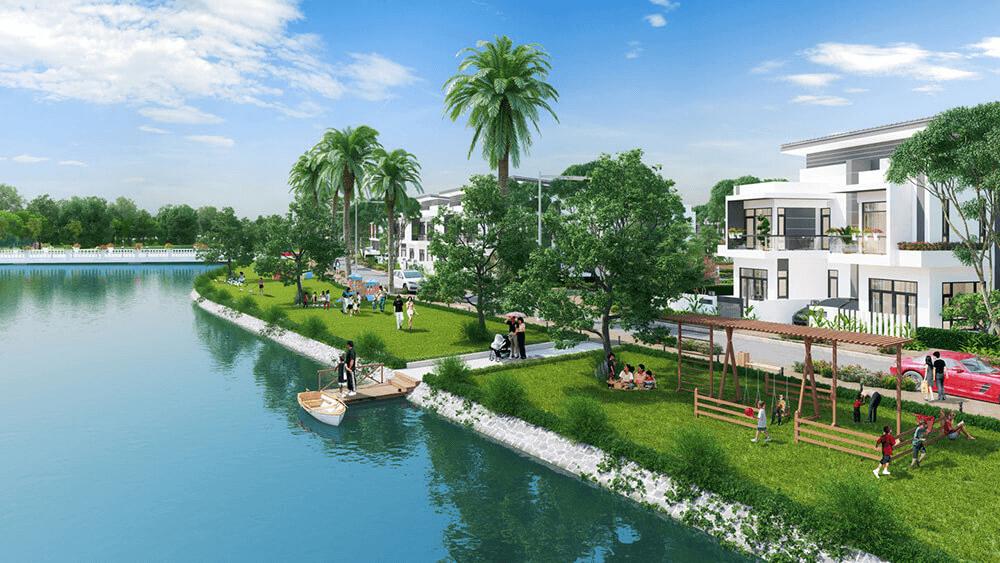 Dưới 3 tỷ nên mua nhà phố dự án nào ở Long An thời điểm này?
